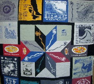 Surfing Quilt - Custom Quilting