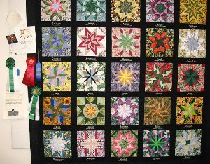 State Flower Quilt - Custom Quilting