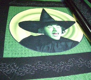 Witch Quilt - Custom Quilts