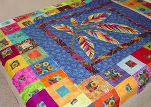 2007 Art Redwoods Quilt - Custom Quilting