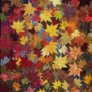 2008 Art redwoods Quilt - Custom Quilting