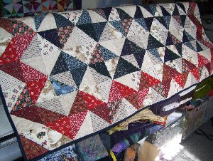 Afghanistan Quilt - Custom Quilting