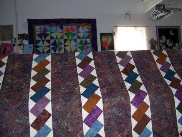 Strippy Quilt - Custom Quilting