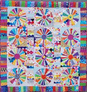 Completely Dotty Quilt Photograph