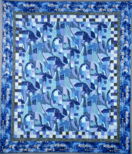 Photo of quilt - No Kabuki Quilt - Click for detail